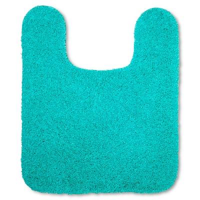 Room Essentials™ Contour Bath Rug - Teal Blue