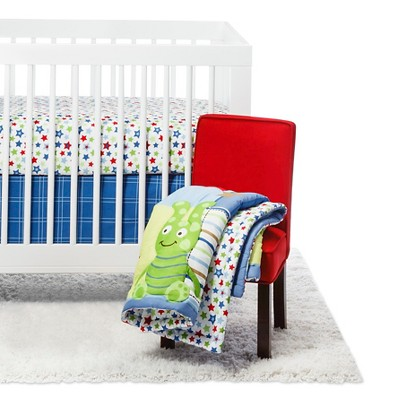 Little Bedding by NoJo Monster Babies 3 Piece Set