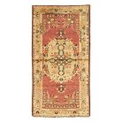 """One of a Kind Turkish Anatolian Accent Rug - Red (2'11""""x5'5"""")"""