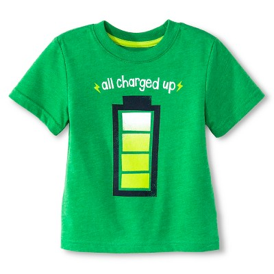 Toddler Boys' T-Shirt  - Green 12M - Circo™