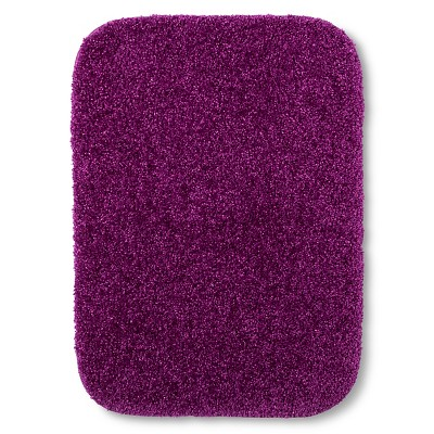 "Room Essentials™ Bath Rug - Purple Elegance (17"")"