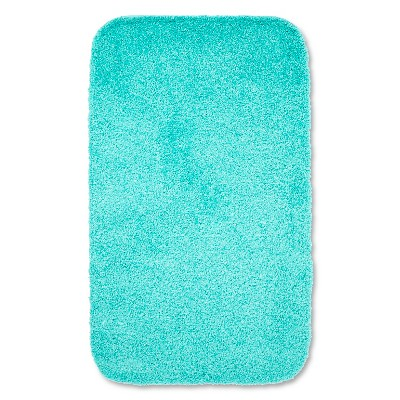 "Room Essentials™ Bath Rug - Sunbleached Turq (23"")"