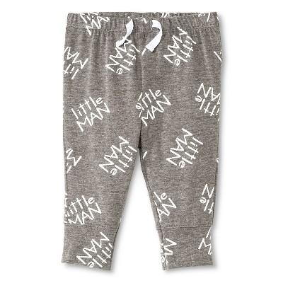 Baby Boys' Little Man Pants Grey  NB - Circo™