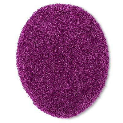 Room Essentials™ Bath Lid Cover - Purple Elegance