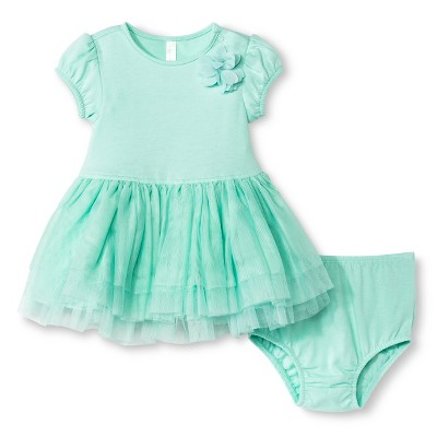 Baby Girls' Tutu Dress Primo Aqua Float 0-3 M - Cherokee®