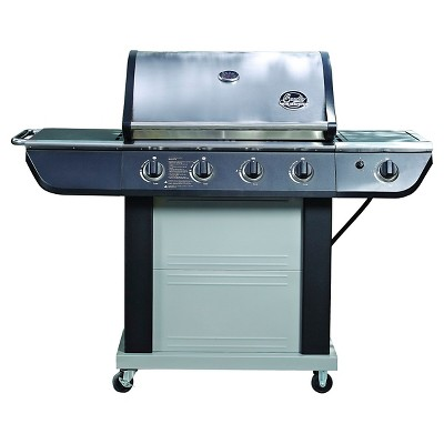 Bradley Smoker 5 Burner 61,000 BTU Stainless Steel Gas Grill