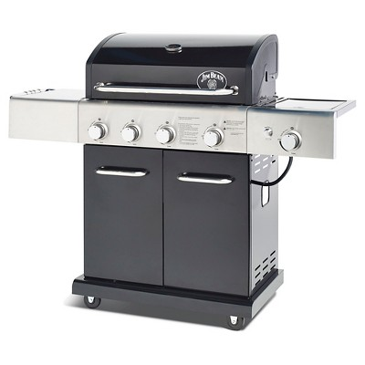 Bradley Smoker 5 Burner 55,000 BTU Jim Beam Gas Grill