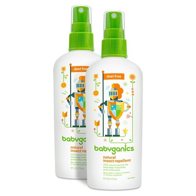 Babyganics Bug Spray 6 oz. (2pk)