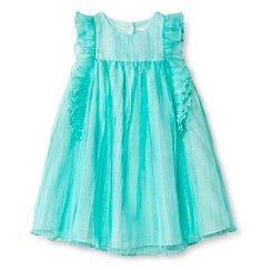 Toddler Girls' Sleeveless Dress Blue - Cherokee®