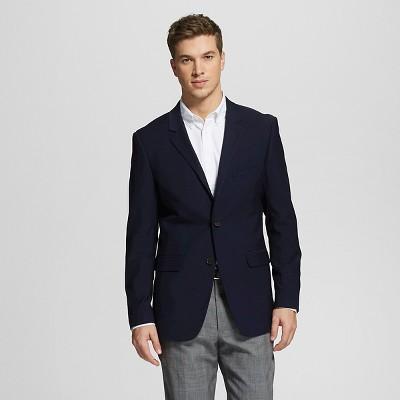 Men's Slim Fit Blazer Navy L - Merona™
