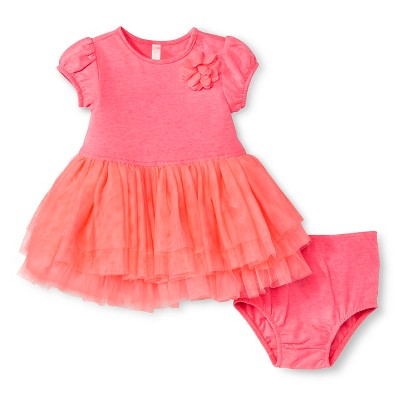 Baby Girls' Tutu Dress Primo Pink 3-6 M - Cherokee®