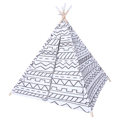 Teepee Gray & White - Pillowfort™
