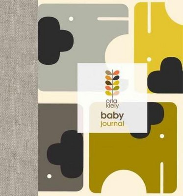 Orla Kiely Baby Journal (Record book)