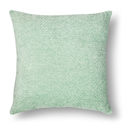 Chenille Throw Pillow - Green Square – Threshold™