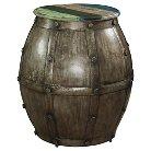 Calypso Barrel Table Multi Colored - Powell Company