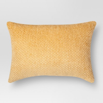 Chenille Throw Pillow - Coral Lumbar – Threshold™