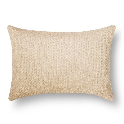 Chenille Throw Pillow - Tan Lumbar – Threshold™