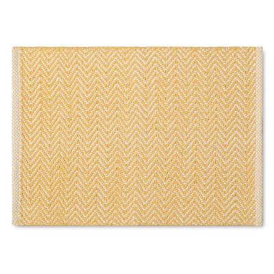 Chunky Chevron Placemat - Yellow - Threshold™