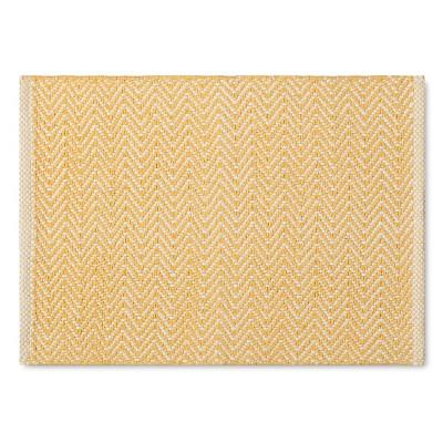 Chunky Chevron Placemat - Yellow - Threshold™