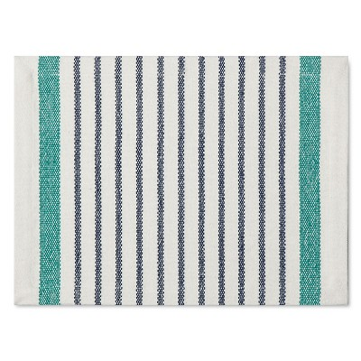 Engineered Stripe Placemat - Blue - Threshold™
