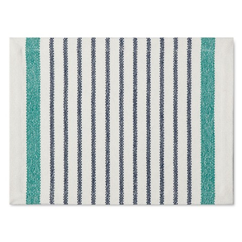 Threshold ™ Engineered Stripe Placemat - Blue