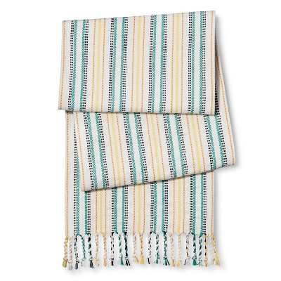 Woven Stripe Runner - Blue - Threshold™