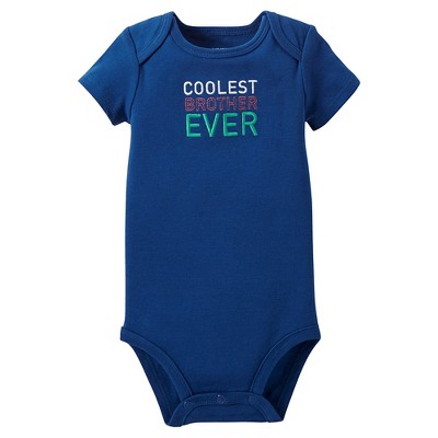 Just One You™Made by Carter's® Newborn Boys' Bodysuit – Navy 9M