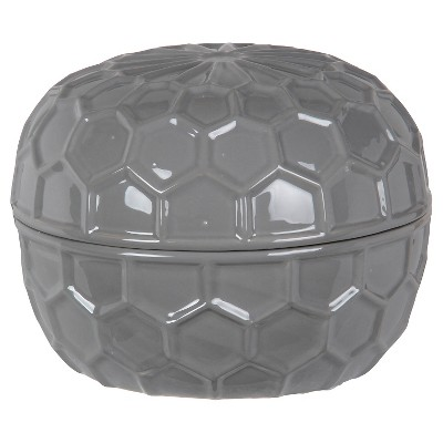 Privilege Large Ceramic Box - Gray