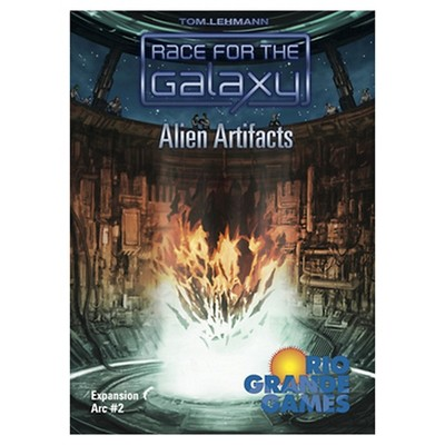 Race for the Galaxy Game Alien Artifacts Expansion Pack