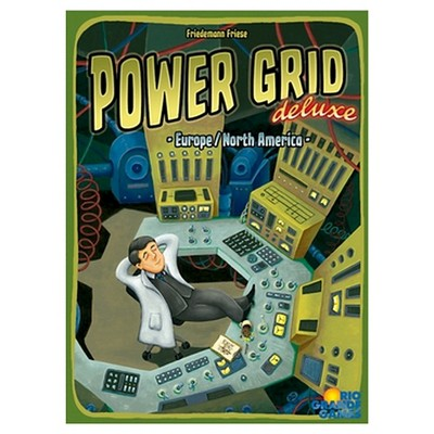 Power Grid Deluxe Game
