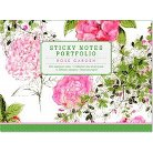 Rose Garden Sticky Notes Portfolio (Notebook / blank book)