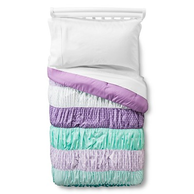 Ruched Comforter - Toddler - Purple - Pillowfort™
