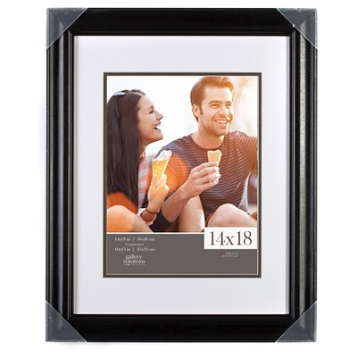 "Gallery Solutions 14""x18"" Frame - Black"