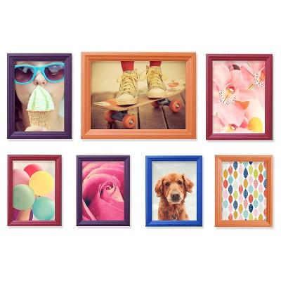 Snap Frame Set - Multicolor Rainbow