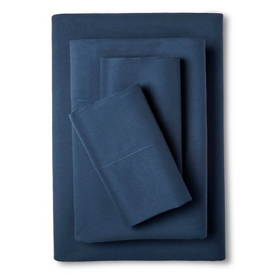 Eddie Bauer® Performance Microfiber Sheet Set -  Dusted Indigo (Queen)