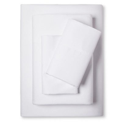 Eddie Bauer® Performance Microfiber Sheet Set -  White (Queen)