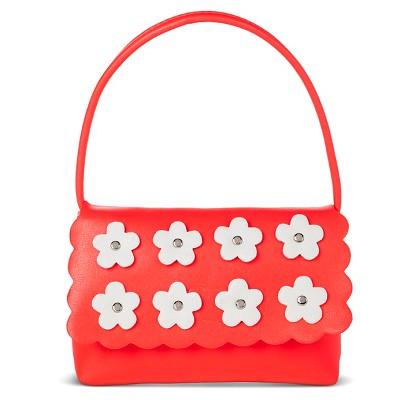 Girls' Polka Dots Flap Closure Satchel Turquoise One Size - Cherokee®