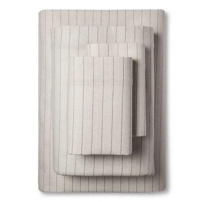 Eddie Bauer® Wallace Stripe Flannel Sheet Set