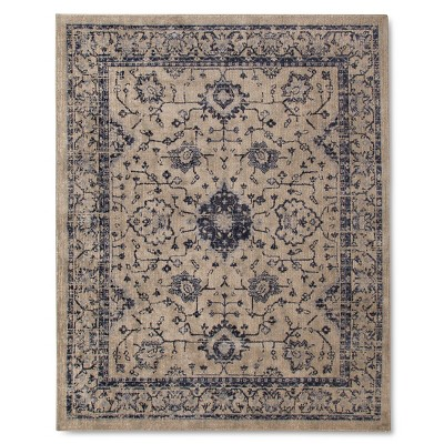 Vintage Distressed Area Rug - 8'x10' - Gray - The Industrial Shop™