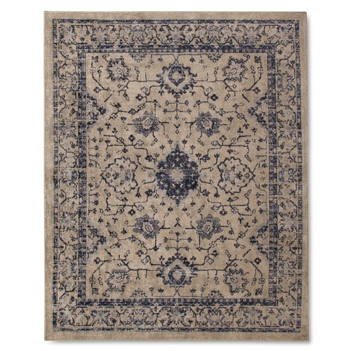 Vintage Distressed Area Rug - The Industrial Shop