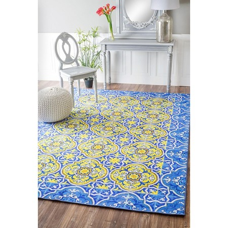 Nuloom Chloe Collection Trinidad Tiles Area Rug Target