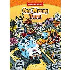 One Wrong Turn ( Funny Bone Readers: Truck Pals on the Job) (Hardcover)