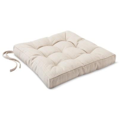 Chair Pad - Brown Linen - Threshold™