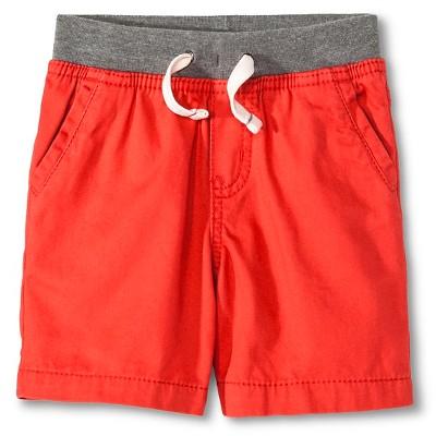 Toddler Boys' Chino Short Mango Berry 12M - Cherokee®