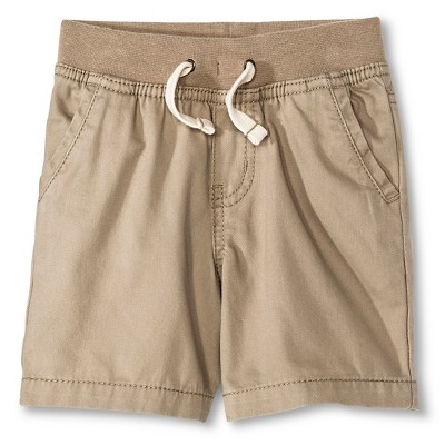 Toddler Boys' Chino Short - Vintage Khaki 12M - Cherokee®