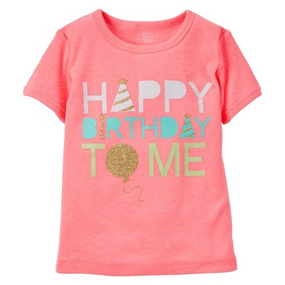 Just One You™Made by Carter's® Toddler Girls' T-Shirt – Pink 12M