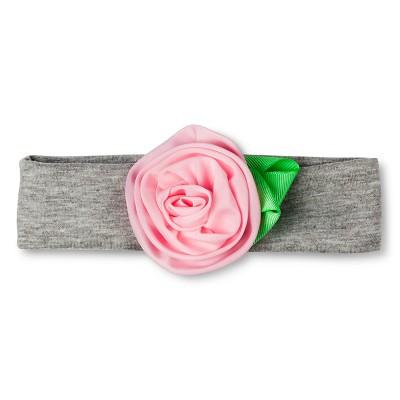 Girls' Flower Flap Easy Closure Fastener Satchel Pink OSFM - Cherokee®