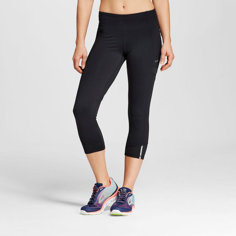 C9 Champion Women's Run Capri - Black S, Size: Small