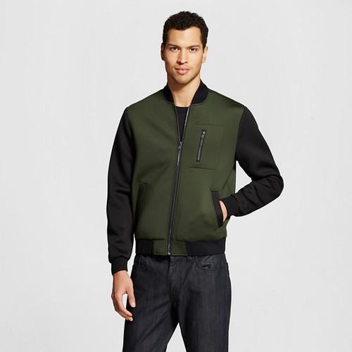 Men's Scuba Bomber Jacket Military Green - WD·NY ...
