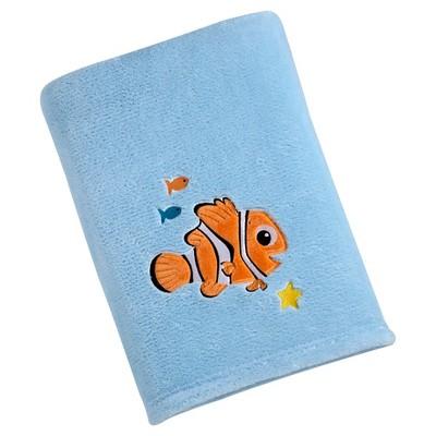 Disney Nemo Solid Coral Blanket